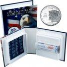 2000 US Mint Licensed Album - New Hampshire Quarter Roll - Denver