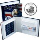 2005 US Mint Licensed Album - Kansas Quarter Roll - Denver