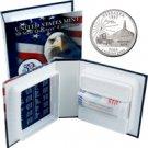 2006 US Mint Licensed Album - Nebraska Quarter Roll - Philadelphia