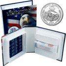 2006 US Mint Licensed Album - South Dakota Quarter Roll - Philadelphia