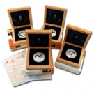 2008 China Olympic Beijing Silver Set Series I - 4 pc