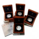 2008 China Olympic Beijing Silver Set Series II - 4 pc