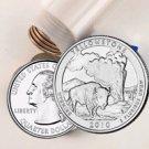 2010 Yellowstone Quarter Roll - Philadelphia Mint - Uncirculated