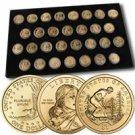 2000 to 2009 Sacagawea Dollar Collection - Uncirculated P & D with SP Bonus