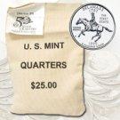 1999 Delaware $ 25 Government Bag D Mint Quarters