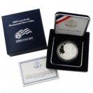 2009 Louis Braille Silver Dollar - Proof