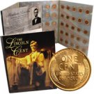 Wheat Penny Date Collection - Uncirculated 1941-1958