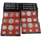 Eisenhower Dollar Proof Sets (1973-1978)