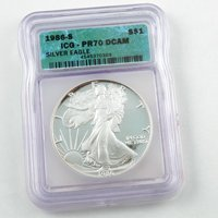 1986 Proof Silver Eagle - Certified 70