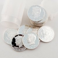 2009 Kennedy Half Dollar Roll of 20 - SILVER PROOF