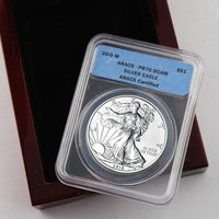 2010 Proof Silver Eagle - Certified 70