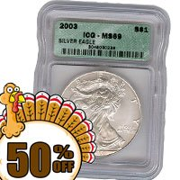 Certified 69 Silver Eagle