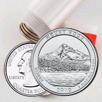 2010 Mt. Hood Quarter Roll - Denver Mint - Uncirculated