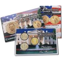 2010 Presidential Dollars - P/D/S Lens - Abraham Lincoln