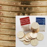 2010 Presidential Dollars - Upside Down 2pc Roll Set - Abraham Lincoln