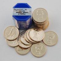 2010 Presidential Dollars Certified Roll - Philadelphia Mint - Abraham Lincoln