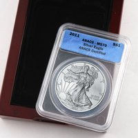 2011 Silver Eagle Certified 70 - ANACS