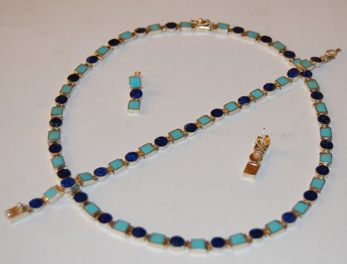 Lapislazuli Opal Set