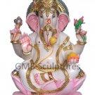 "Marble Ganapati Statue 30"" - GNS30002"
