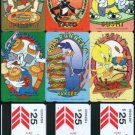 Hong Kong Phonecard : Warner Bros Cantoon x 6 Pieces