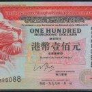 UNC Hong Kong HSBC 1999 HK$100 Banknote : EU 888088