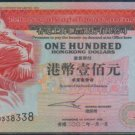 UNC Hong Kong HSBC 2002 HK$100 Banknote : LU 338338