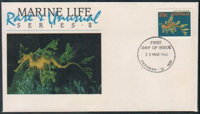 Australia FDC / First Day Cover : Marine Life 20 Mar 1985