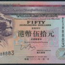 UNC Hong Kong HSBC 2000 HK$50 Banknote : BE 388883
