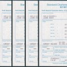 Hong Kong Standard Chartered Bank Cash Deposit Customer Advice x 5 Pieces