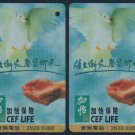 Hong Kong MTR Train Ticket : CEF Life x 3 Pieces