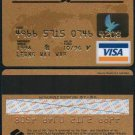 Visa Credit Card : Hong Kong Standard Chartered Bank 1996