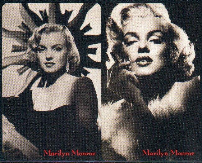 Japan / Japanese Phonecard : Marilyn Monroe x 2 Pieces