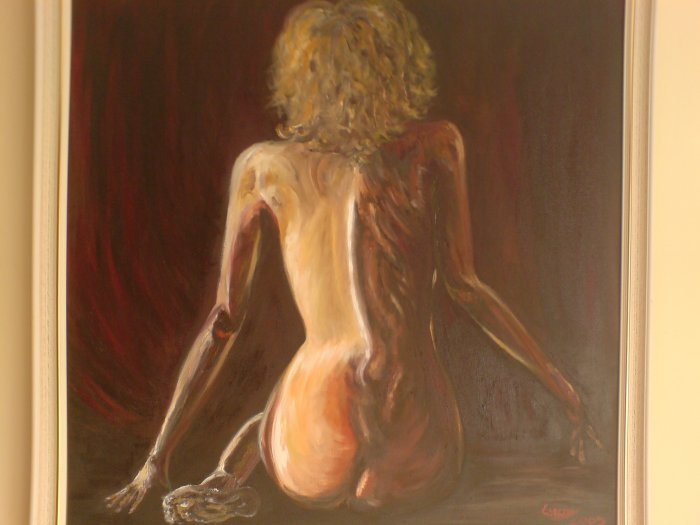 Nude oil on canvas