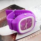 UNISEX WATCH - dk Purple