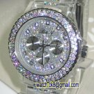 09 Ladies' Fantastic shiny stone watch III- Transparent