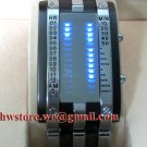 TOKYO  Japanese LED WATCH BLACK & BLUE LED