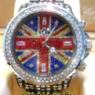 Ladies' Fantastic shiny stone watch- blue st13