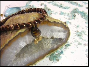 Copper Pearl and Tigers Eye