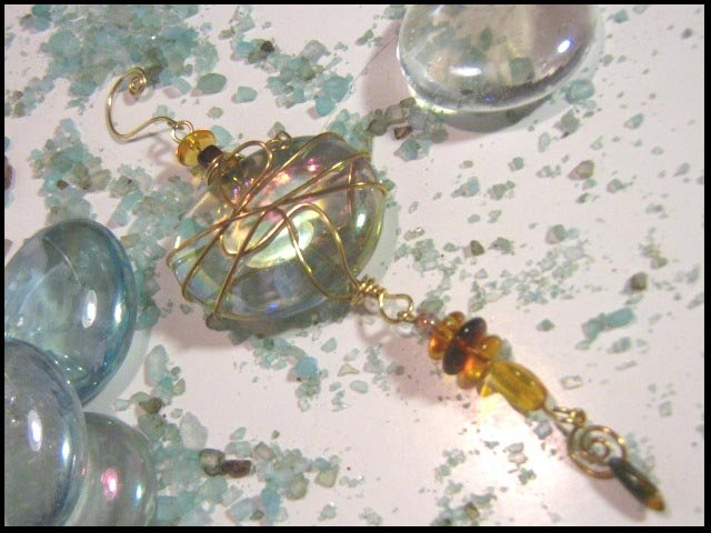 Copper & Yellow Charmed Treasure