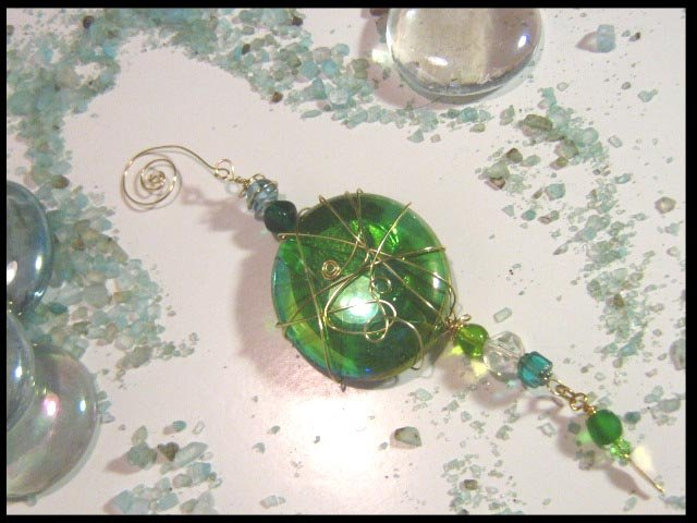 Green Charmed Treasure