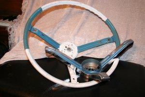 1967 chev steering wheel