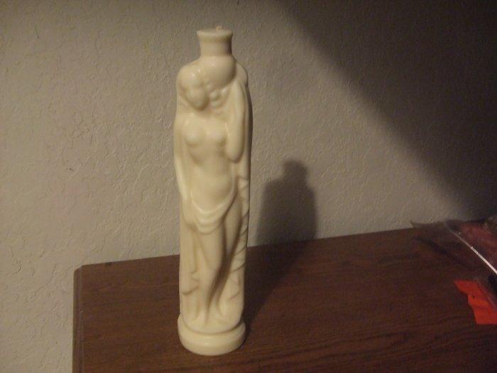 Rebbeca Statue candle