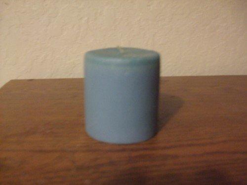 round pillar candle