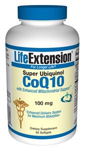 Super Ubiquinol CoQ10 with Enhanced Mitochondrial Support� 100 mg 60 softgels