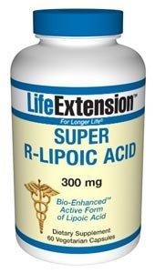 Super R-Lipoic Acid - 300 mg 60 vegetarian capsules