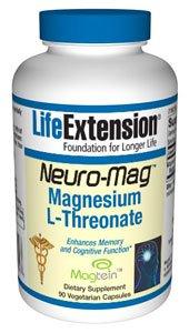 Neuro-Mag� Magnesium L-Threonate - 90 vegetarian capsules