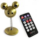 4GB Mickey Mouse Style Mp3 Player+Car Kit