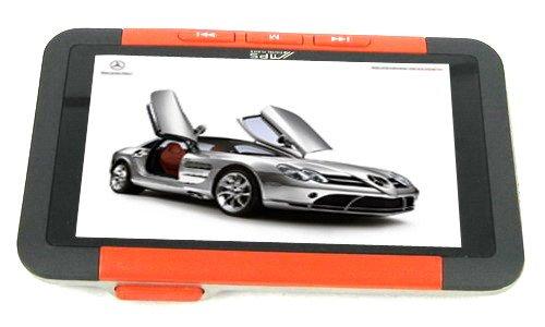 16GB 3.0 Inch MP4 MP5 Player - Orange / Black