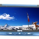 8GB 3.0 Inch TFT Screen MP5 Player - Blue /Black