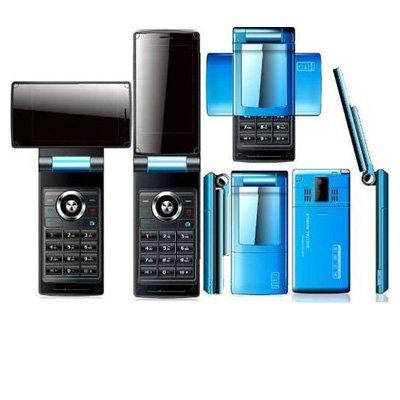 3.0 Inch TFT Revolving Screen TV Mobile Phone